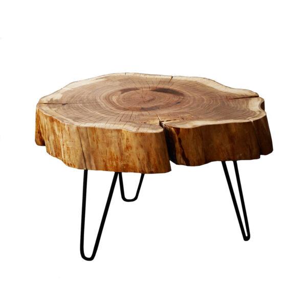Stolik kawowy plaster czereśni